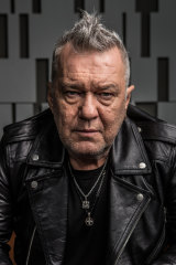 Re-made man: Jimmy Barnes.