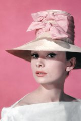 Audrey Hepburn in a publicity still for </i>Funny Face</i> in 1957.