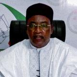 Outgoing Niger President Mahamadou Issoufou.