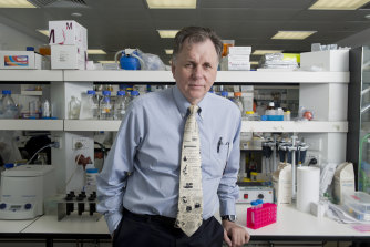 Nobel Prize winner Professor Barry Marshall.