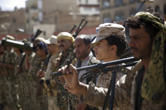 The separatists and the forces loyal to former President Abed Rabbo Mansour Hadi have fought together against Yemen's Shiite Houthi rebels.