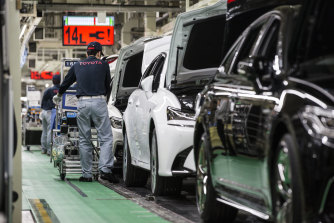 Toyota pioneered so-called Just In Time manufacturing, in which parts are delivered to factories right as they are required, minimising the need to stockpile them.