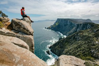 The views along the Three Capes Track are the real luxury.