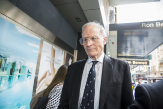 Former High Court justice Dyson Heydon, pictured in 2015.
