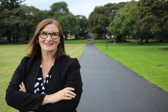 Education Minister Sarah Mitchell.