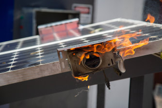 The rise in rooftop fires comes as the rate of safety inspections declines.