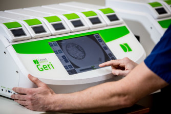 The Geri incubator is designed to allow scientists to monitor embryos without disrupting their environment.