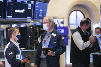 Wall Street financial stocks surged on Friday.