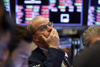 The S&P 500 dropped more than 3 per cent in early trading on Friday.