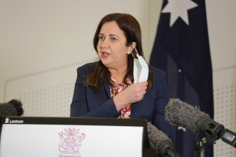 "Queensland Premier Annastacia Palaszczuk wishes Gladys Berejiklian ""the best for the future"