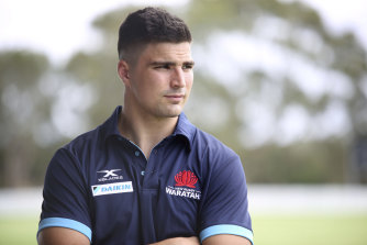 Jack Maddocks was a late signing for the Waratahs.