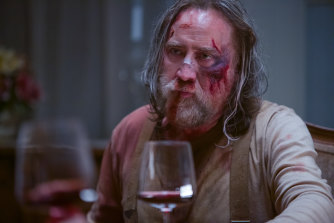 Nicolas Cage in a scene from Pig.