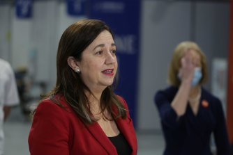 Queensland Premier Annastacia Palaszczuk has urged residents to get vaccinated.