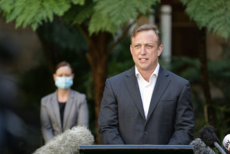 """Queensland Deputy Premier Steven Miles has accused the federal government of """"undermining"""" a vaccine incentive scheme."""