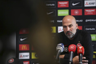 Markus Babbel has coached Western Sydney to just 10 wins from 40 A-League matches.