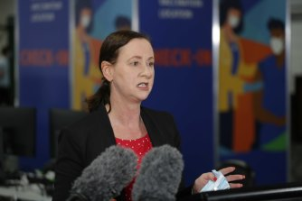 Queensland Health Minister Yvette D'Ath says a new system will be used to ensure people in home quarantine do not leave the premises.