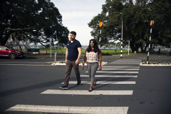 Lamia Imam, a New Zealander, and her American husband, Cody Sandel, had always planned to return to New Zealand, but their move was hastened by the pandemic in the United States.