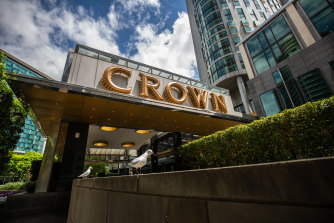 The Victorian government has brought forward its review of Crown casino's licence.