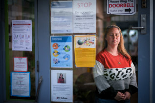 Narelle Lawton from Dawson Street Children's Co-operative in Brunswick has welcomed the decision to restrict access to childcare.
