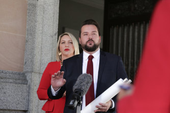 Brisbane City Council Labor opposition leader Jared Cassidy and deputy leader Kara Cook have waged a sustained campaign for the popular kerbside collection scheme's return.