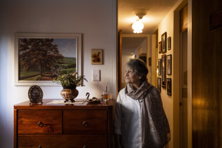 Maggie Piuk, 82, says she has nowhere to go if she's forced out of her much-loved home of 44 years.