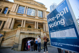 Several parliamentary inquiries in the past decade have recommended pre-poll voting be restricted to no more than two weeks before an election.