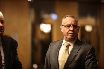 Mark Korda was named Collingwood president on Wednesday.