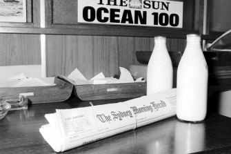 Back in the days (1974) when everything from milk to newspapers was delivered daily.