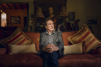 Eric Idle, Monty Python member, co-creator of the musical Spamalot