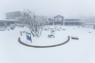 Mount Buller has received plenty of snow while Victoria was in lockdown.