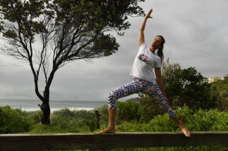 Sasha Hawley, founder of Yoga by the Sea, says clients want to keep on top of their health and wellbeing during the crisis.