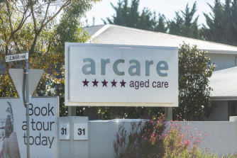 Almost a third of residents at the Arcare Maidstone aged care facility have not consented to being vaccinated.