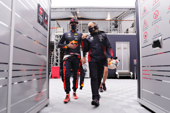Max Verstappen said George Russell did not know what was going on at Red Bull.