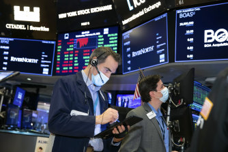 Wall Street was choppy overnight.