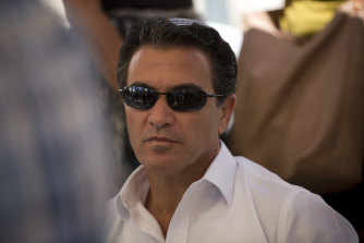 Yossi Cohen, the former director of Israel's Mossad intelligence agency.