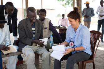Dorsa Nazemi-Salman says she is in awe of the strength shown by the South Sudanese people.
