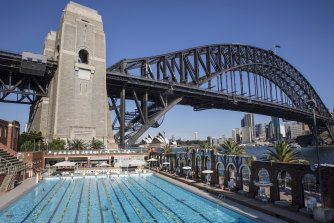 The pool will close for two years from the end of February to allow for the redevelopment.