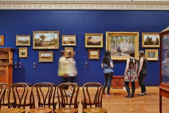 Bendigo Art Gallery is a big drawcard.