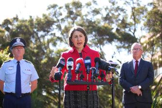 NSW Premier Gladys Berejiklian details her decision to close the NSW-Victoria border.