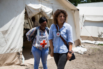 Nazemi-Salman headed up ICRC operations in South Sudan, where the evacuation of gunshot victims was a regular challenge.