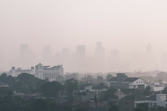 A picture of Jakarta in 2019, when it topped the list of cities with the worst air pollution.