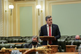 Queensland Labor MP for Logan Linus Power was one of three party members who said they would not support their government's voluntary assisted dying bill on Wednesday.