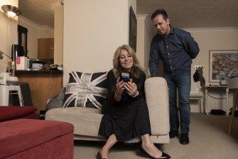 Sarah Richfield and Nico de Swardt have been using relationship app Relish.