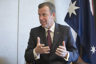 Trade Minister Dan Tehan says all 11 member nations would have to agree before China's application could be considered.