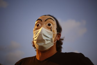 From behind a mask - truth-telling or a lack of civility?