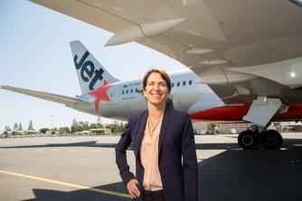 Jayne Hrdlicka in her days as CEO of Jetstar.
