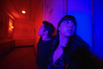 Spencer Tripodi and Lauren Caltabiano feature in Body Horror.