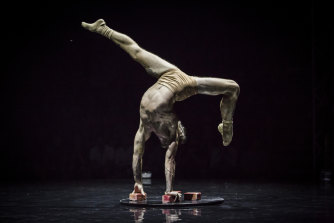 'Humans' explores the human condition through circus arts.