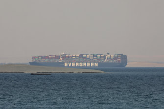 Egypt has seized the Ever Given ship - which is leased by Taiwanese conglomerate Evergreen.