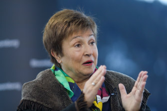 IMF head Kristalina Georgieva says a relatively small investment to bring forward the end of the pandemic could deliver a $US9 trillion boost to the global economy.